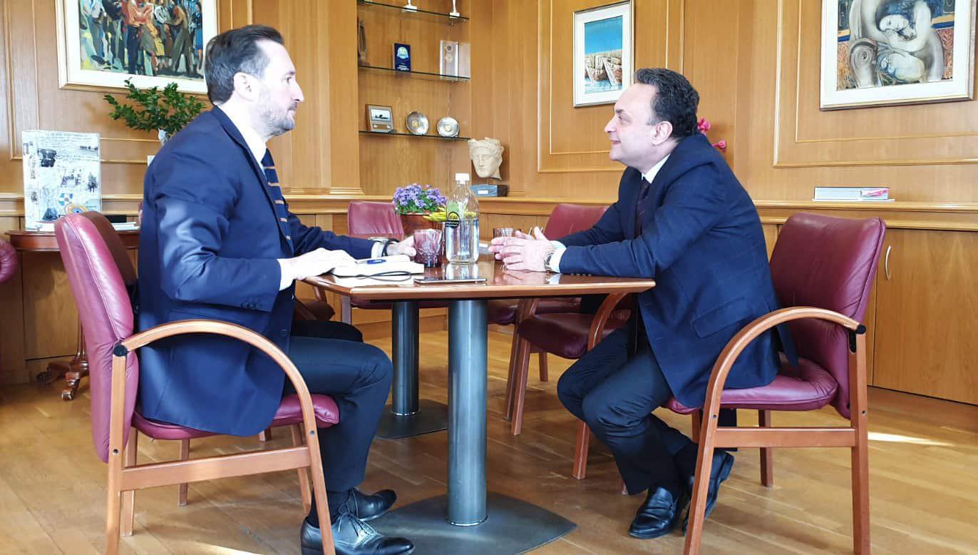 Συνάντηση με το Δήμαρχο Αλεξανδρούπολης 10-02-2020