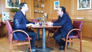 Συνάντηση Κελέτση με το Δήμαρχο Αλεξανδρούπολης