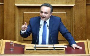 Αναπληρωτής Γενικός Γραμματέας της Κ.Ο. της Νέας Δημοκρατίας ο Σταύρος Κελέτσης.