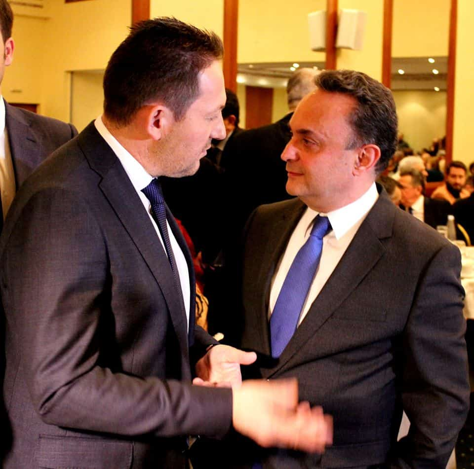 Κοπή πίτας ΝΟΔΕ ΝΔ Έβρου παρουσία του Υφυπουργού παροά τω Πρωθυπυργώ Στέλιου Πέτσα 25-01-2020