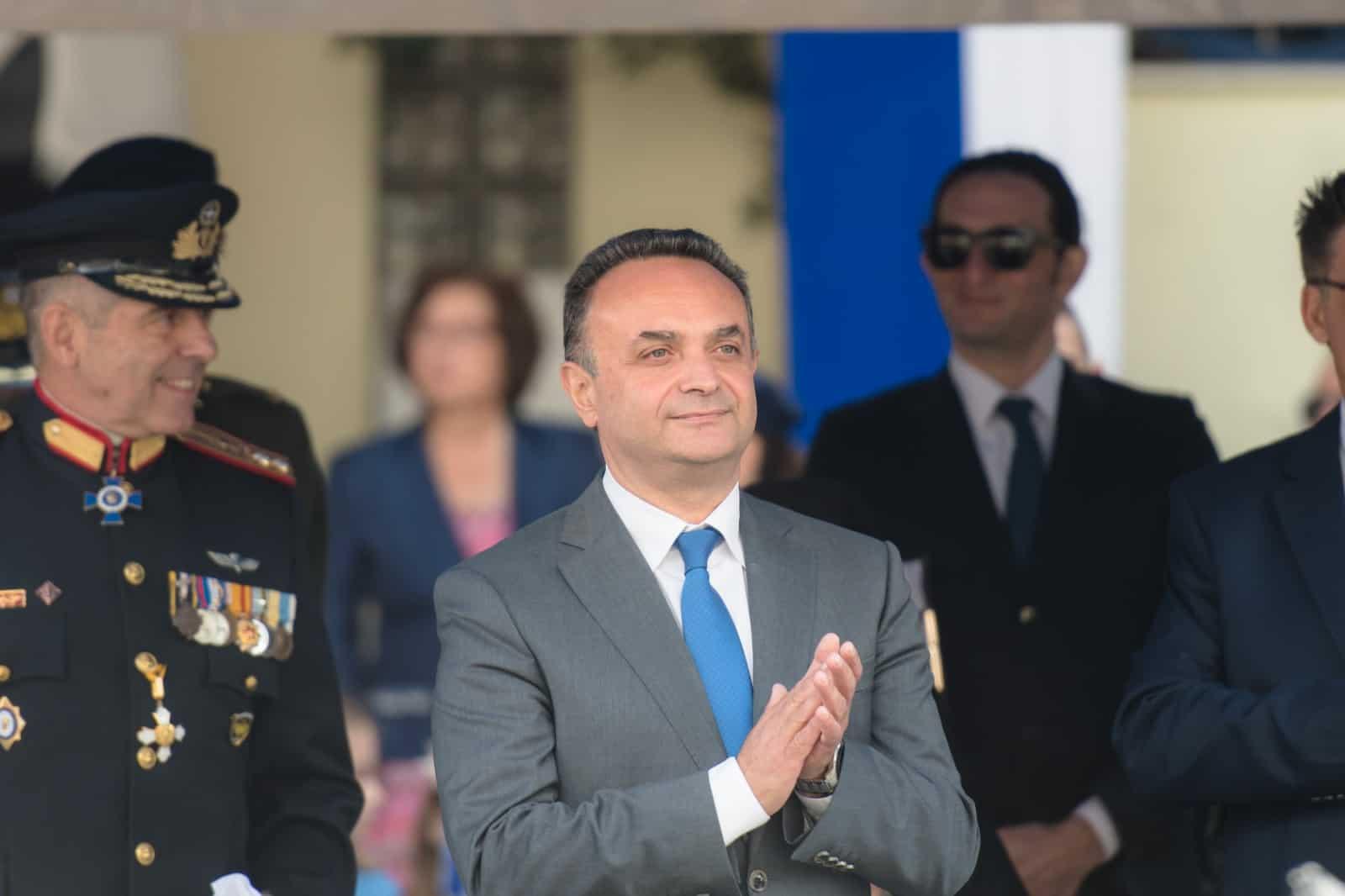 Εκπροσωπώντας την Κυβέρνηση στην Παρέλαση της 28ης ΟΚΤΩΒΡΙΟΥ 2019 στην Αλεξανδρούπολη
