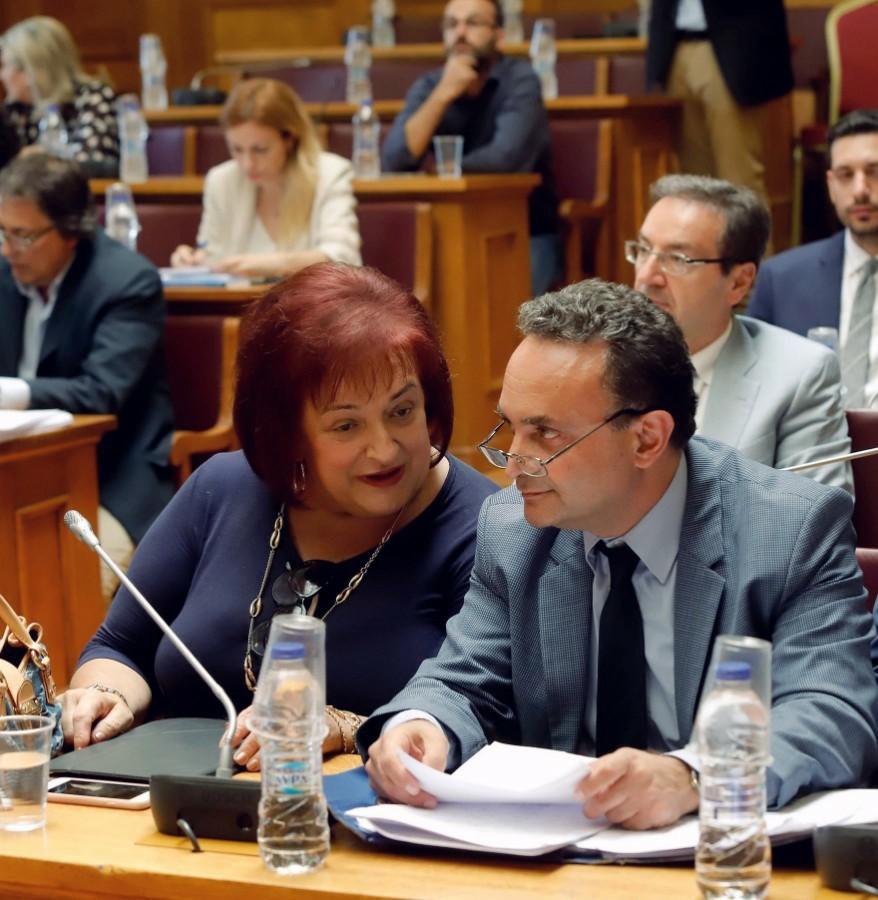 Στην αρμόδια Επιτροπή για το Σ/Ν που αφορά στην προστασία Προσωπικών Δεδομένων ο Σταύρος Κελέτσης