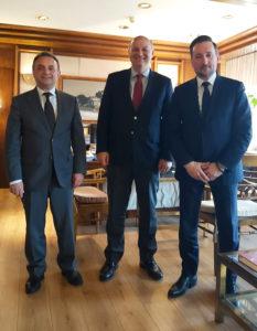 Συνάντηση Κελέτση – Ζαμπούκη με τον Υπουργό Δικαιοσύνης για νέο Δικαστικό Μέγαρο στην Αλεξανδρούπολη