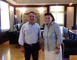 Συνάντηση Κελέτση με την Υπουργό Πολιτισμού