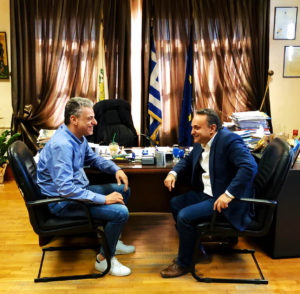 Συνάντηση Κελέτση με το Δήμαρχο της Ορεστιάδας
