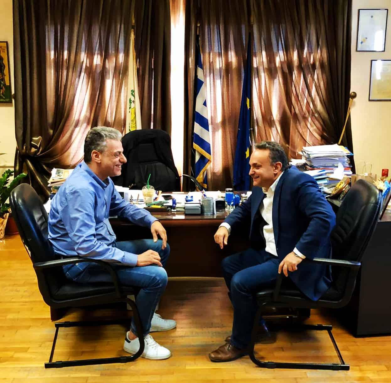 Συνάντηση εργασίας με το Δήμαρχο Ορεστιάδας 14-10-2019