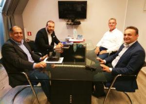 Επίσκεψη Εργασίας του Σταύρου Κελέτση στη νέα Διοίκηση του ΟΛΑ