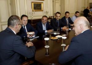 Σύσκεψη στο Μέγαρο Μαξίμου για την ακτοπλοϊκή σύνδεση της Σαμοθράκης
