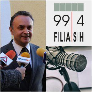 Συνέντευξη στον FLASH fm 99.4 στις 15-01-2020