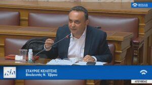 Σταύρος Κελέτσης : «Ευθύνη της κυβέρνησης η προστασία της υγείας των πολιτών και η ενημέρωσή τους»
