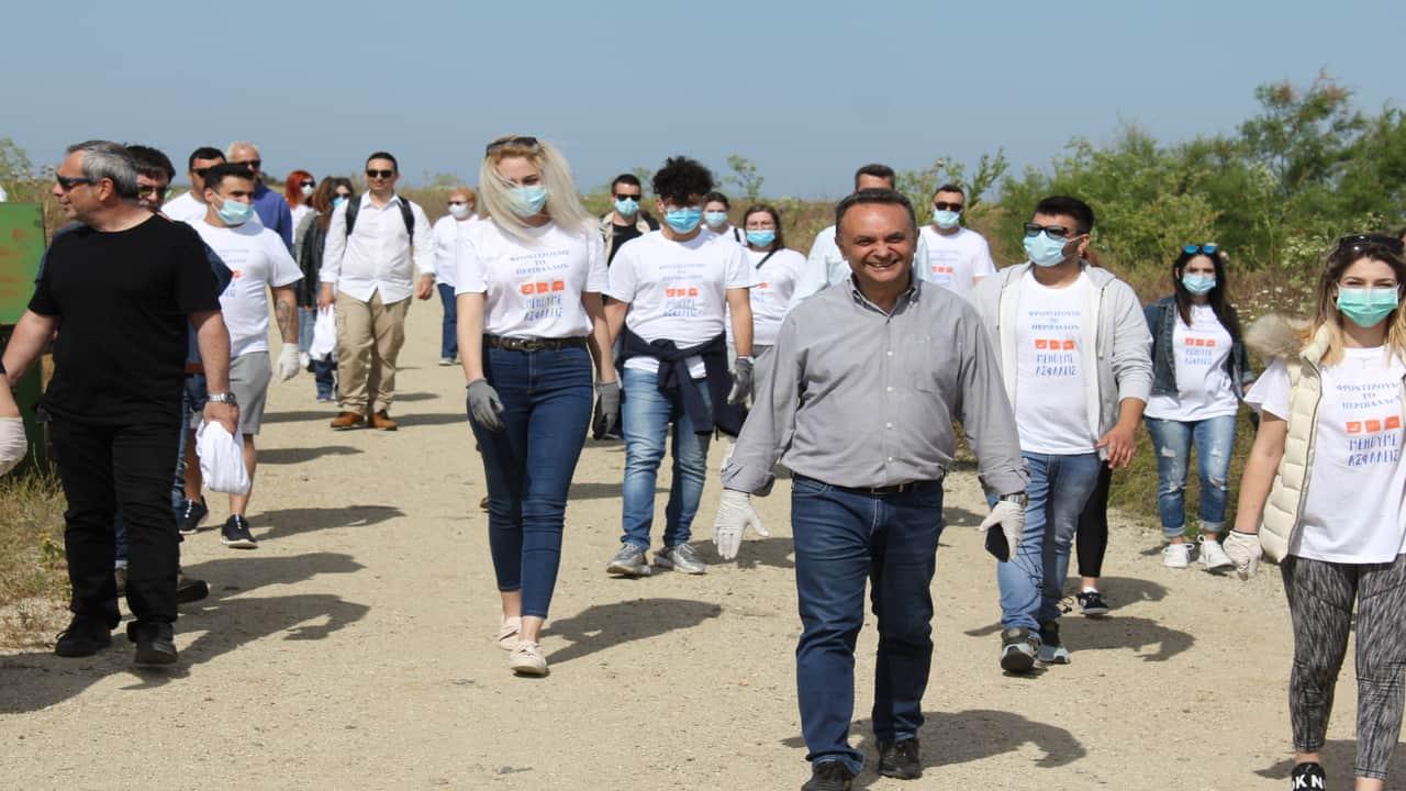 Πρωτοβουλία καθαρισμού και ανάδειξης του Δέλτα του Έβρου από τον Βουλευτή Σταύρο Κελέτση & εθελοντές