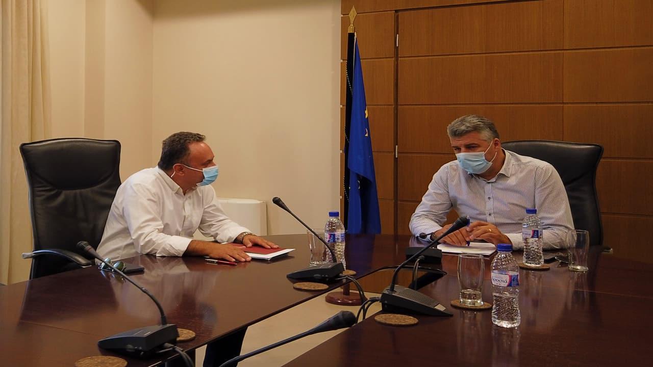 Συναντήσεις Κελέτση με φορείς ενόψει της λειτουργίας της διακομματικής επιτροπής για τη Θράκη