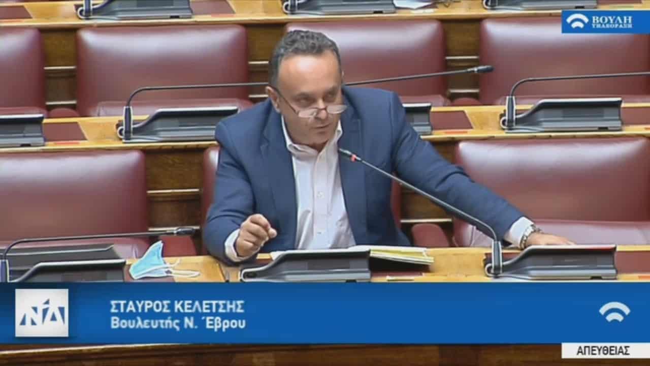 Σταύρος Κελέτσης : «Ο Έβρος δεν μπορεί να σηκώσει επέκταση του ΚΥΤ Φυλακίου για εθνικούς λόγους»