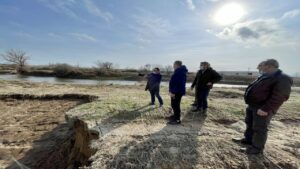 Στις πληγείσες περιοχές του Έβρου ο Σταύρος Κελέτσης – Στόχος η επιτάχυνση της αποκατάστασης των ζημιών