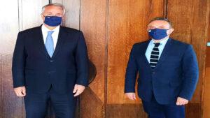 Συνάντηση Κελέτση με τον Υπουργό Εσωτερικών για το χαρακτηρισμό  του Δήμου Σαμοθράκης ως «ηρωϊκού»
