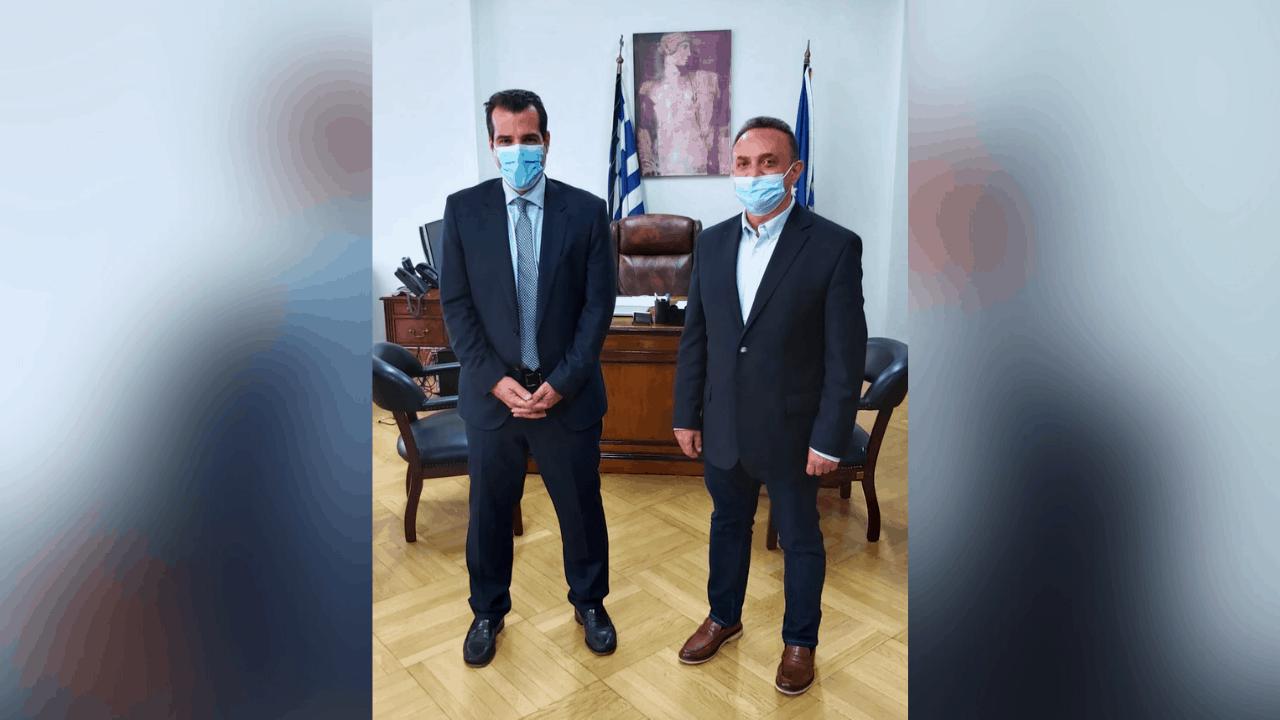 Συνάντηση με τον Υπουργό Υγείας είχε ο Βουλευτής Έβρου Σταύρος Κελέτσης