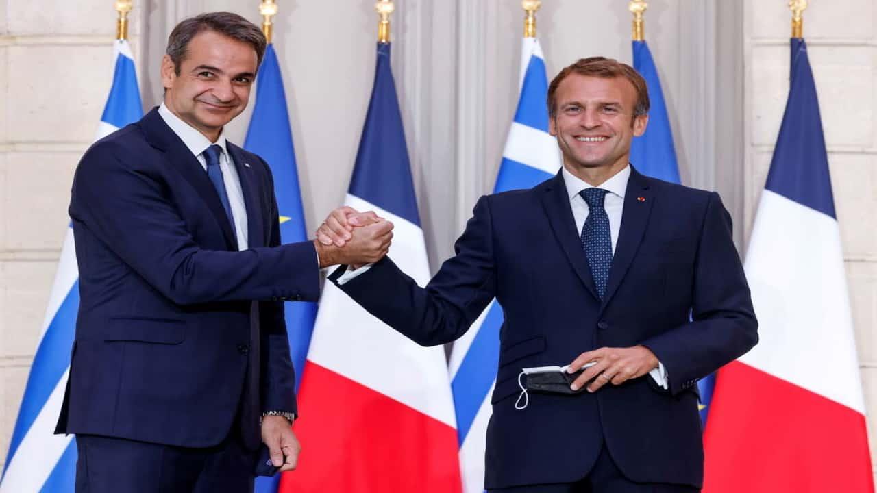 Δηλώσεις του Πρωθυπουργού Κυριάκου Μητσοτάκη αμέσως μετά την υπογραφή της Συμφωνίας «Στρατηγικής Εταιρικής Σχέσης για τη Συνεργασία στην Άμυνα και στην Ασφάλεια» Ελλάδας – Γαλλίας, στο Μέγαρο των Ηλυσίων